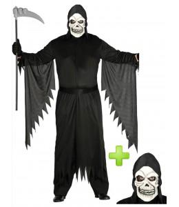 Disfraz de la muerte con mascara - Disfraces Halloween