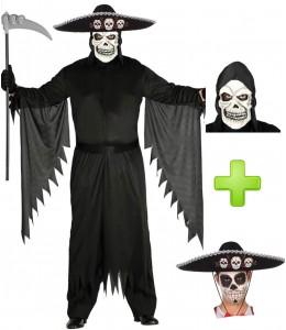 Disfraz de Muerte Mejicana - Disfraces Halloween