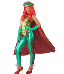Disfraz de Super Heroina Enredadera
