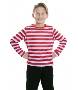 Camiseta Rayas Negra y Blanca Infantil