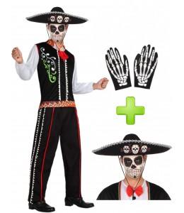 Disfraz de Catrino Mexicano - Disfraces Halloween