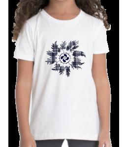 Camiseta Eguzkilore Lauburu Niña