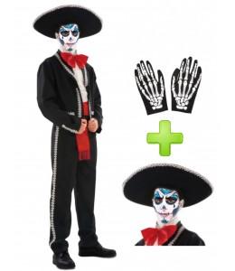 Disfraz de Catrino Mariachi - Disfraces Halloween