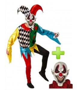 Disfraz de Joker Poker diabolico - Disfraces Halloween