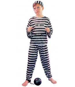 Disfraz de Preso Infantil