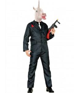 Disfraz de Mafioso Unicornio