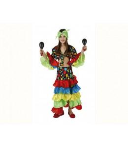 Disfraz de Rumbera Samba Infantil