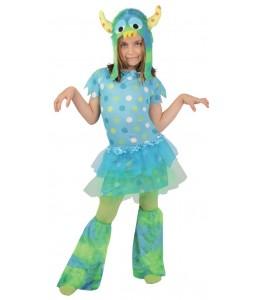 Disfraz de Monstruita Azul Infantil