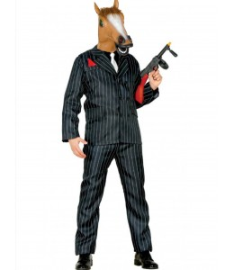 Disfraz de Mafioso Caballo