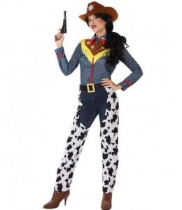 123ad57b3 Disfraz de Vaquera Vaca