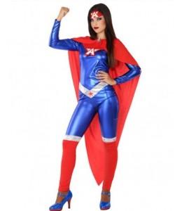 Disfraz de Superheroina America
