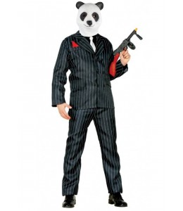 DIsfraz de Mafioso Panda