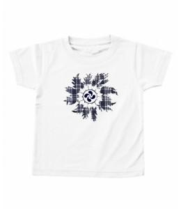 Camiseta Eguzkilore Lauburu Bebe