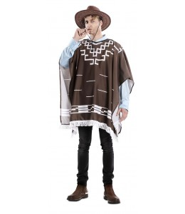 Disfraz de Poncho de Forajido