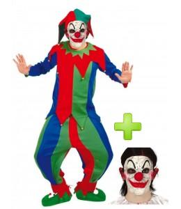 Disfraz de Bufon Diabolico - Disfraces Halloween