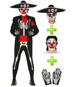 Disfraz de Catrino Payaso - Disfraces Halloween