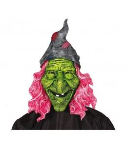 Mascara de Bruja Verde