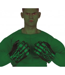 Guantes Monstruo Verde Latex