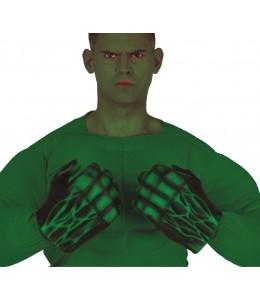 Guantes Monstruo Verde Latex