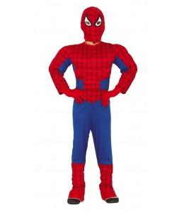 Disfraz de Super Heroe Araña Musculoso Infantil