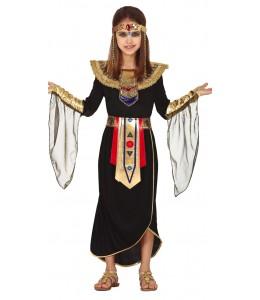 Disfraz de Egipcia Negra Infantil
