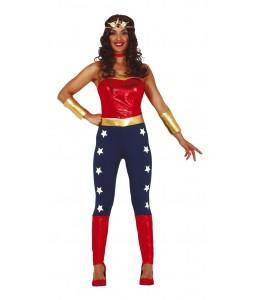 Disfraz de Super Heroina Estrellas