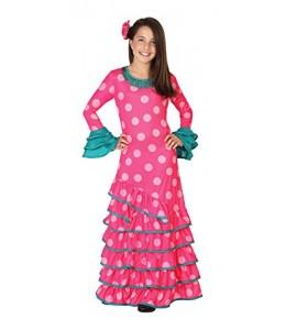 Disfraz de Flamenca Rosa