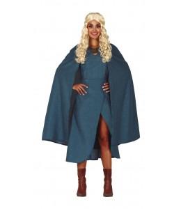 Disfraz de Reina de Dragones Azul