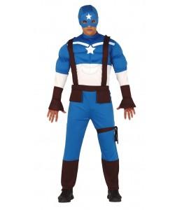 Disfraz de Capitan Star Musculoso