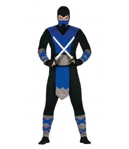 Disfraz de Ninja Azul