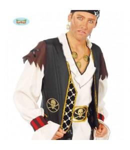 Chaleco y Cinturon Pirata