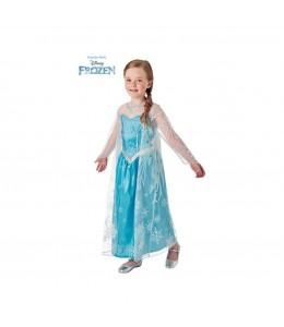 Disfraz de Elsa de Luxe Capa Larga Infantil