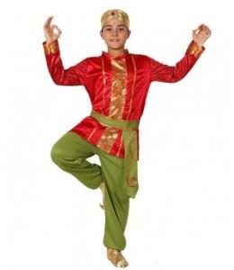 Disfraz de Hindu Rojo Infantil
