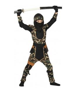 Disfraz de Ninja Comander Infantil