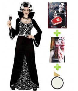 Vampiresa Royal con set de caracterizacion