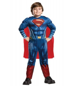 Disfraz de Superman JL Movie Deluxe Infantil