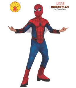 Disfraz de Spiderman FFH Red/Black Classic Infantil