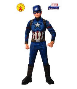 Disfraz de Capitan America Endgame Premium Infantil