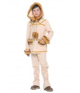 Disfraz de Esquimal Beige Niño
