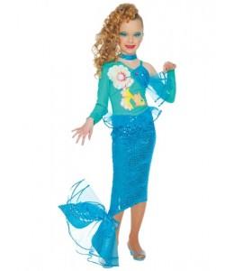 Disfraz de Sirenita Pez Infantil