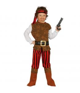 Disfraz de Pirata Corsario Marron Infantil