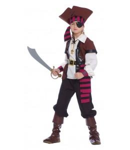 Disfraz de Pirata Siete Mares Infantil