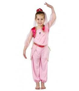 Diafraz de Princesa Arabe Rosa Infantil