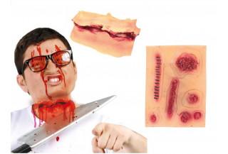 Heridas y Caracterizacion para Halloween