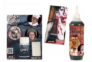 Latex, Sangre y Carne Artificial para Halloween