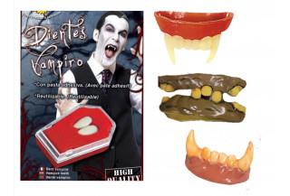 Dentaduras para Halloween