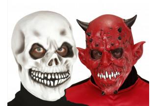 Mascaras de Calaveras y Demonios