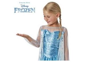 Disfraces de Princesa de Hielo Infantil