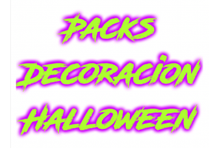 Packs Decoracion Halloween