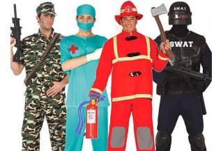 Disfraces Oficios y Uniformes Hombre